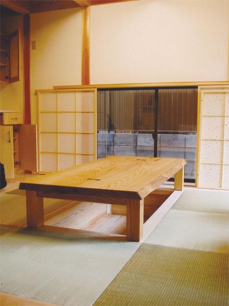 座テーブル