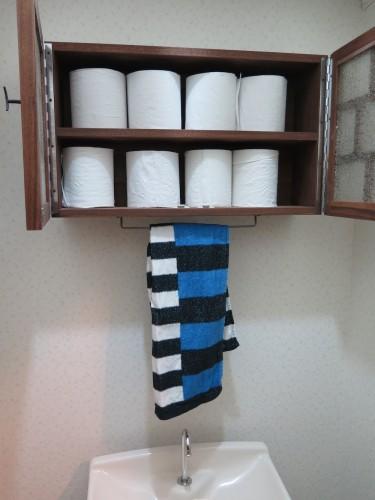 トイレの飾り箱