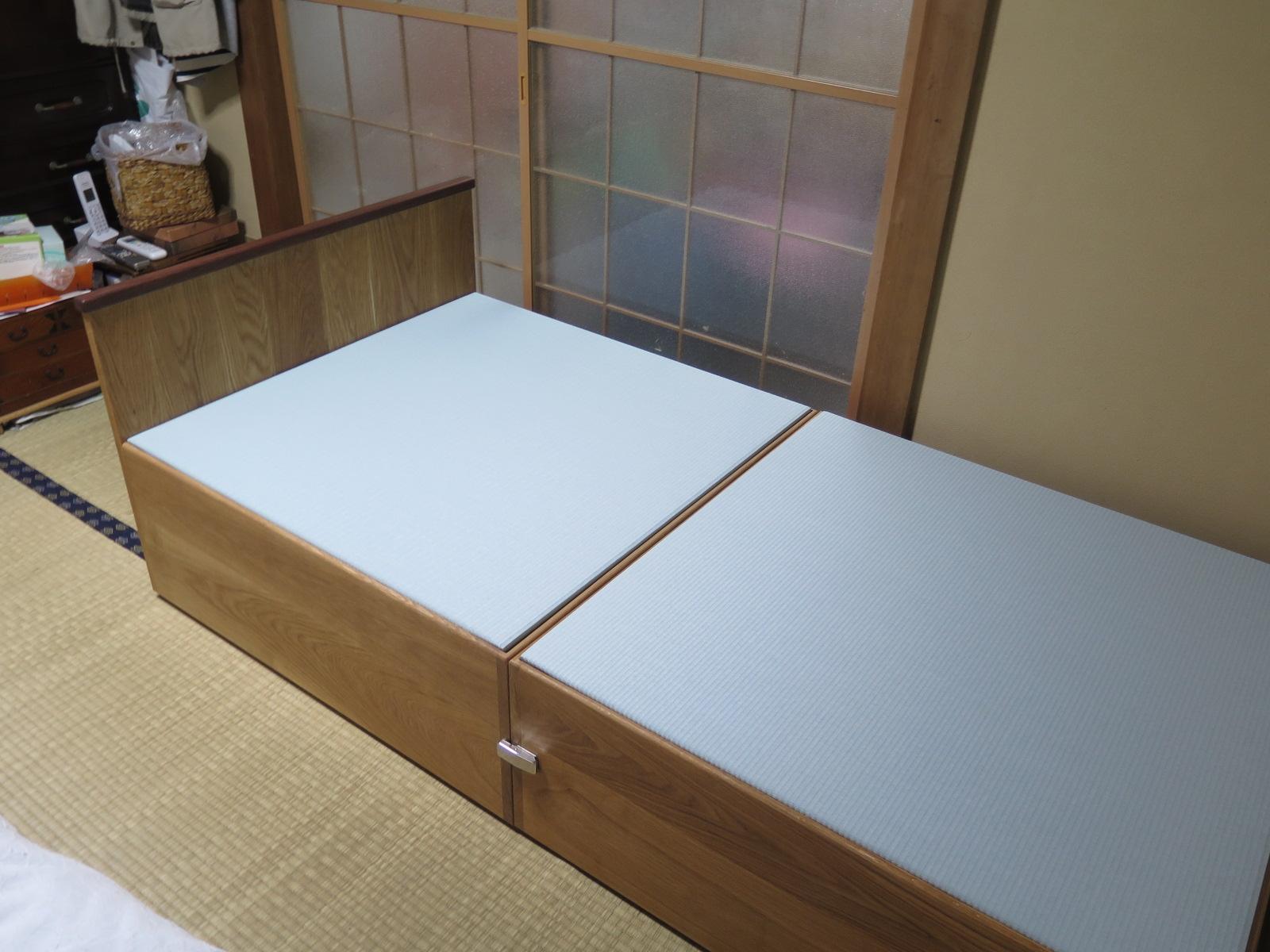 畳のベッド