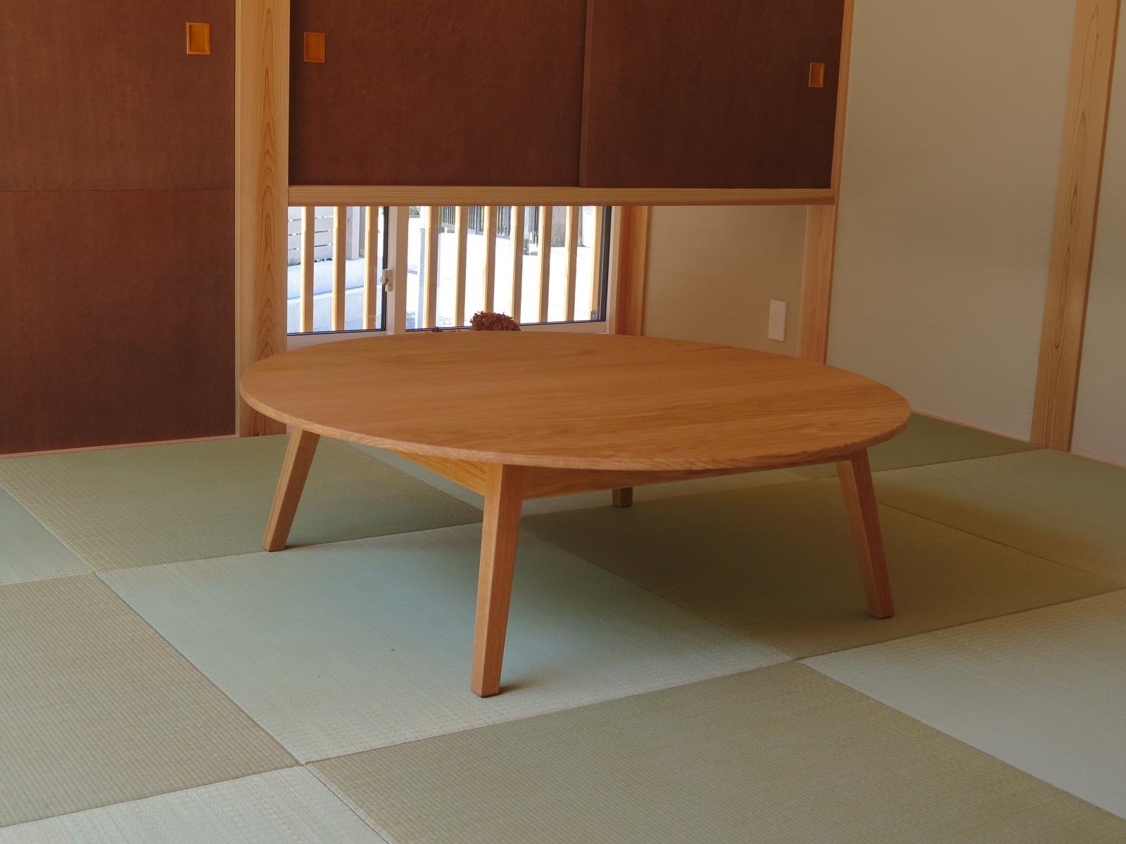 楢の丸座卓