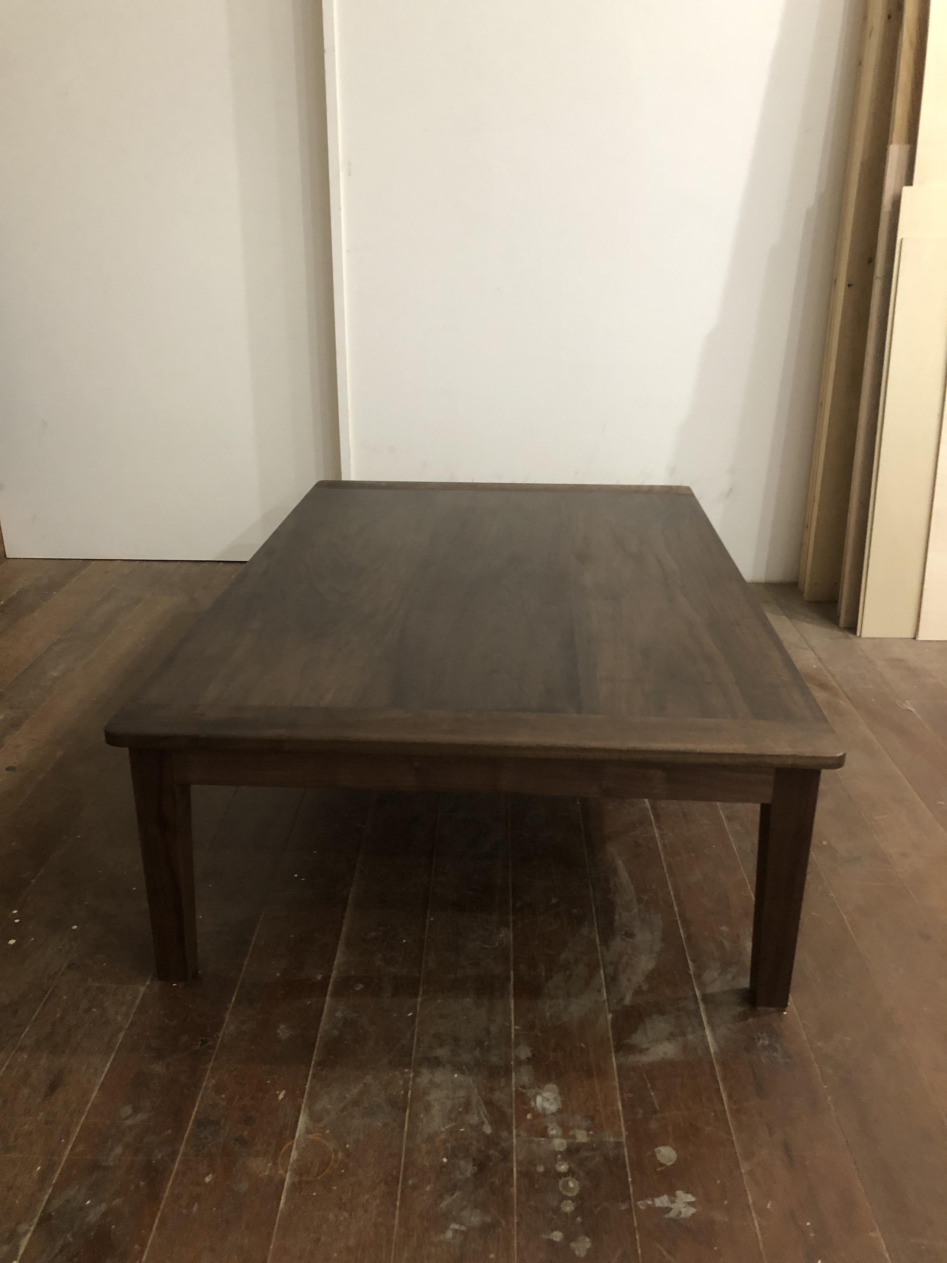 ウォールナットのこたつテーブル