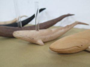 シロナガスクジラの一輪挿し